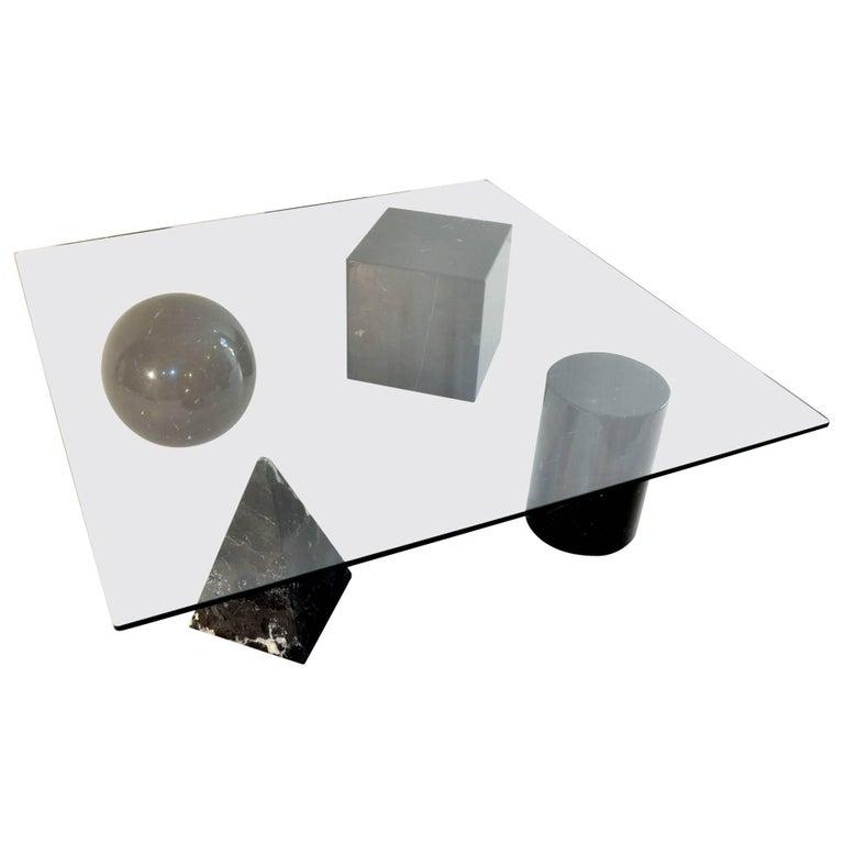 Massimo & Lella Vignelli 'Metafora' Coffee Table, Italy, 1970s