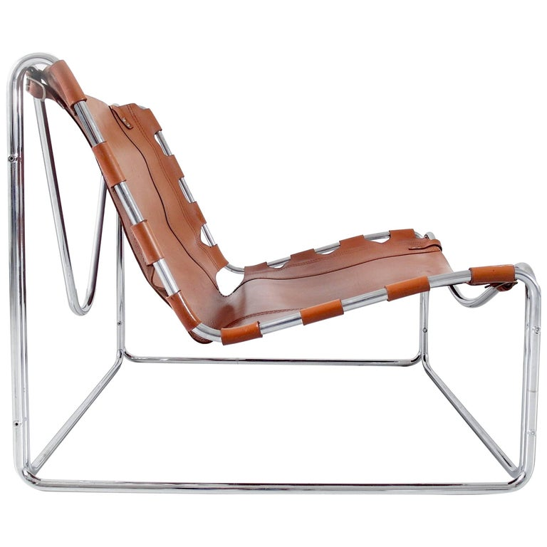 "Pascal Mourgue ""Fabio"" Lounge Chair for Steiner Meubles, France, 1970"