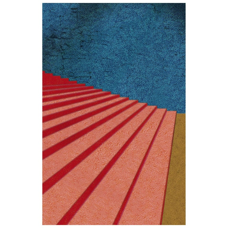 Secondo Piano Rug in Wool and Polyester