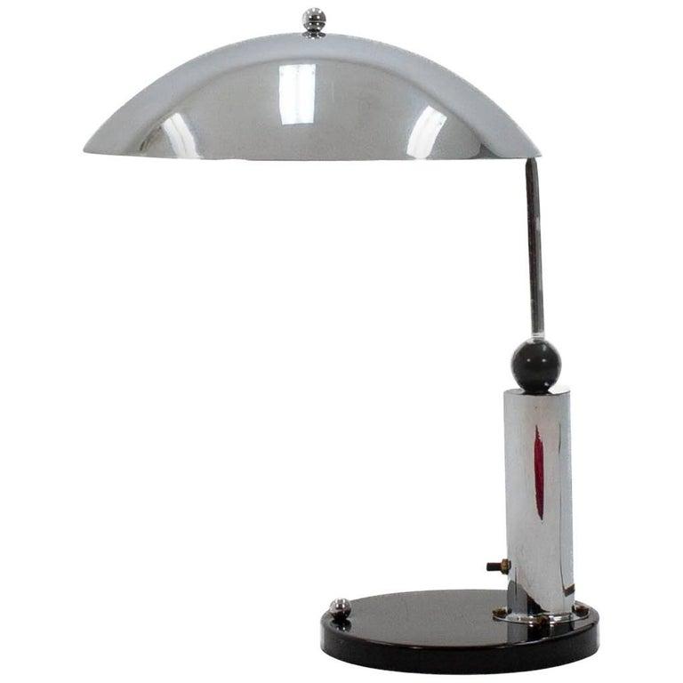 Art Deco Desk Lamp by Daalderop, 1930s