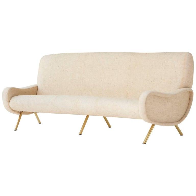 Rare Three-Seat Marco Zanuso Lady Sofa, Arflex, Italy, 1960s