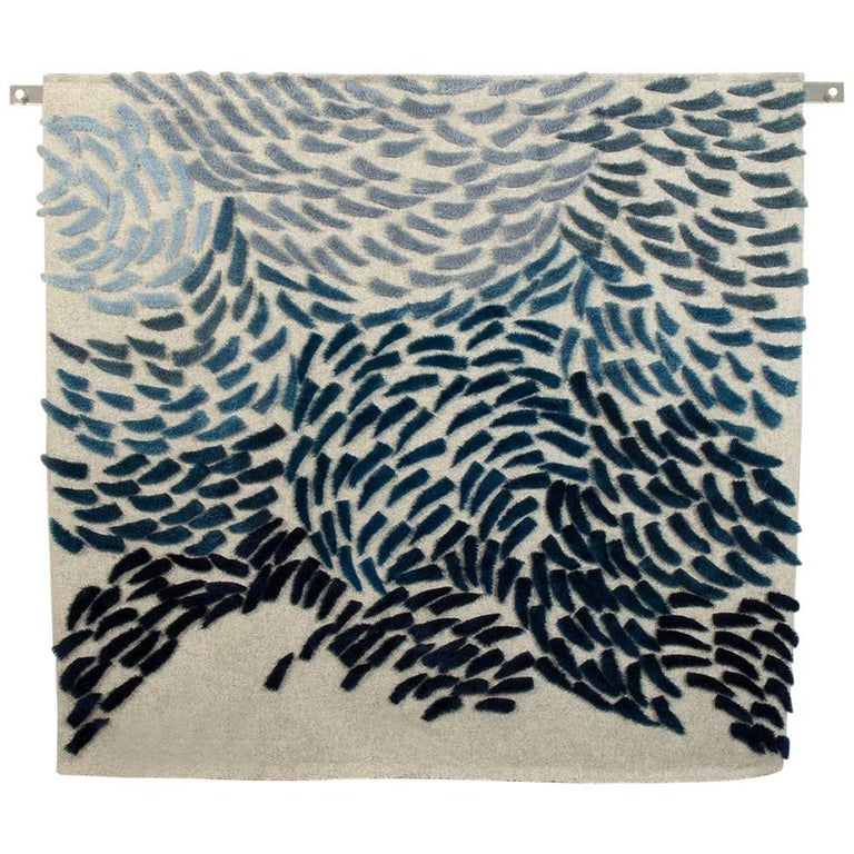 Murmuration by Textile Artist Anna Gravelle