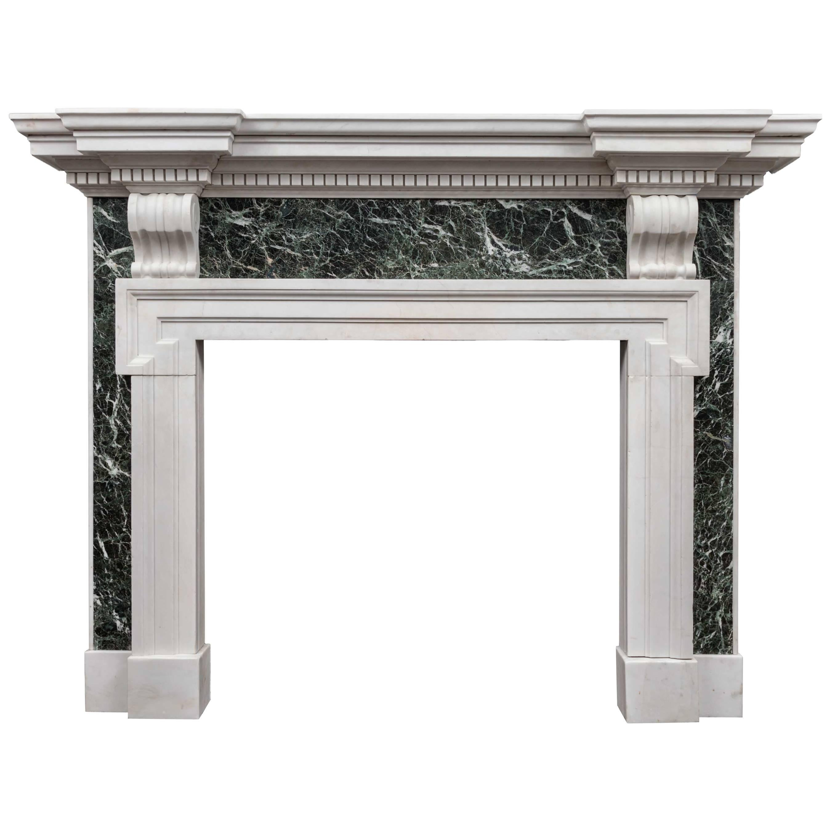Palladian Marble Fireplace