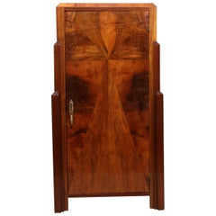 Art Deco Walnut Cabinet, circa 1930