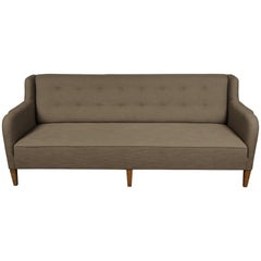 Midcentury Sofa from Denmark in the Manner of Flemming Lassen, circa 1980