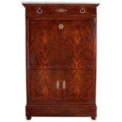 Flame Mahogany Secretaire a Abattant