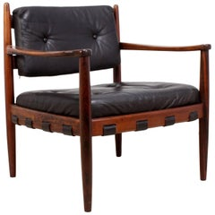 Rosewood Cadett Lounge Chair by Eric Merthen, circa 1960