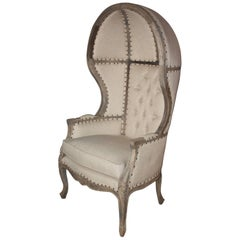 19th Century French Canopy Chair