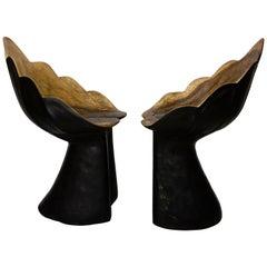 Organic Design Solid Wood Armchair
