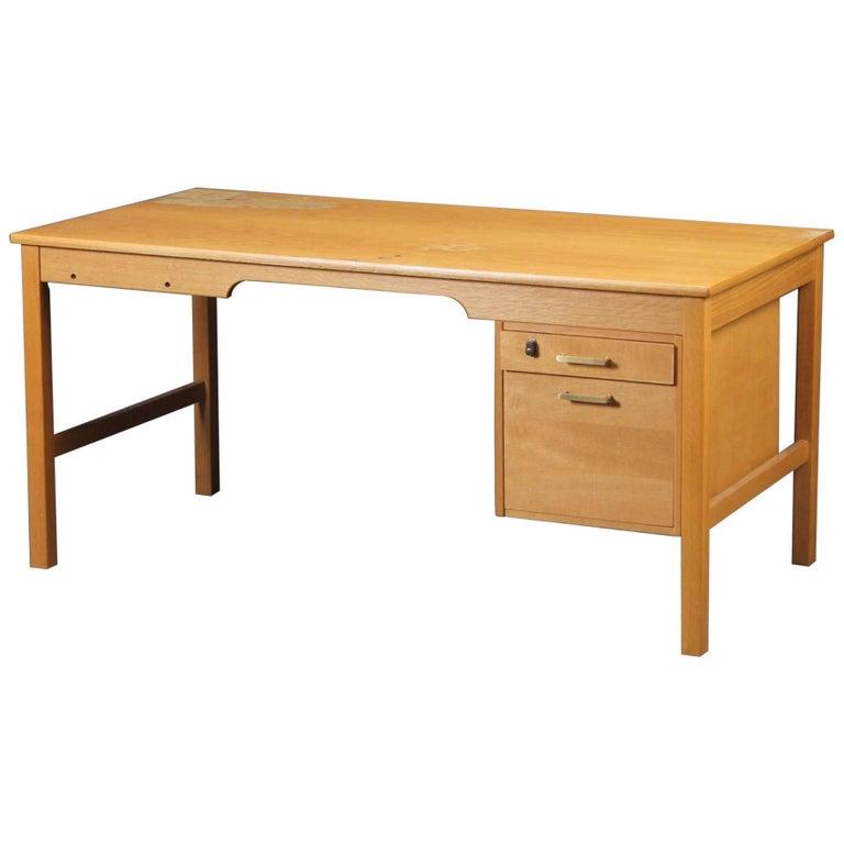 Desk of Model SM70 by Børge Mogensen for Soborg Furniture