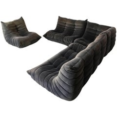 Michel Ducaroy for Ameublements Belus Four Piece Togo Sofa and Chair Set