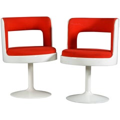 Two Mid-Century Modern 1970s Easy Chairs from Finland