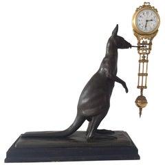 Kangaroo Mystery Clock