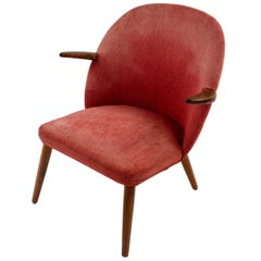 Danish Midcentury Teak Easy Chair