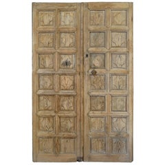 Outstanding Pair of 18th Century Spanish Doors