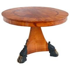 Biedermeier Salon Table, 1820s