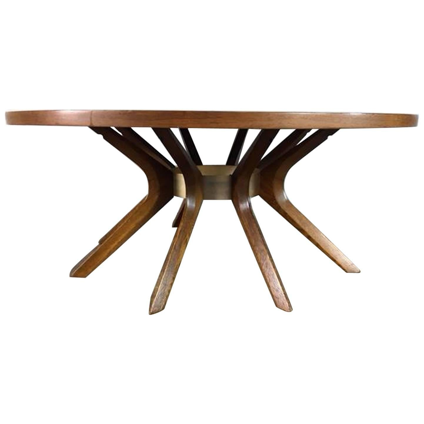 Brasilia Cathedral Coffee Table By Broyhill