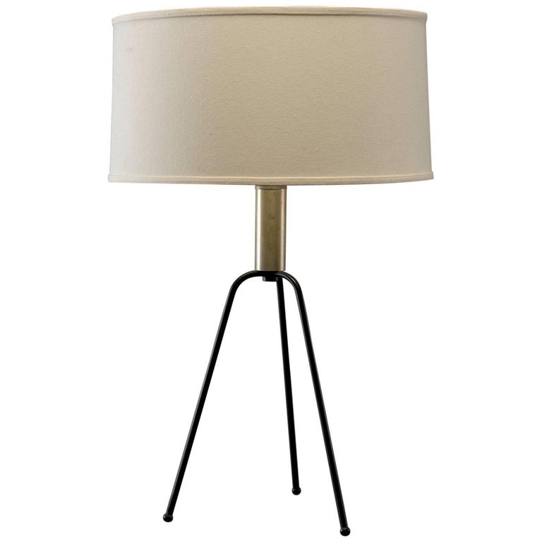 Midcentury Tripod Table Lamp