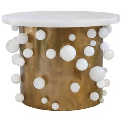 Bubble Rock Crystal Cocktail Table by Phoenix
