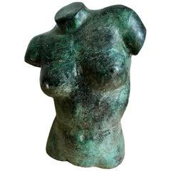 Bronze Female Torso