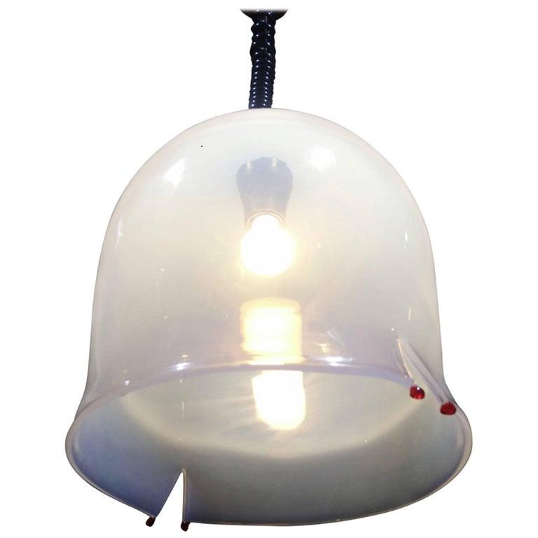 Six mid century modern bell pendant light by leucos 1960 by toso and six mid century modern bell pendant light by leucos 1960 by toso and pamio for aloadofball Gallery