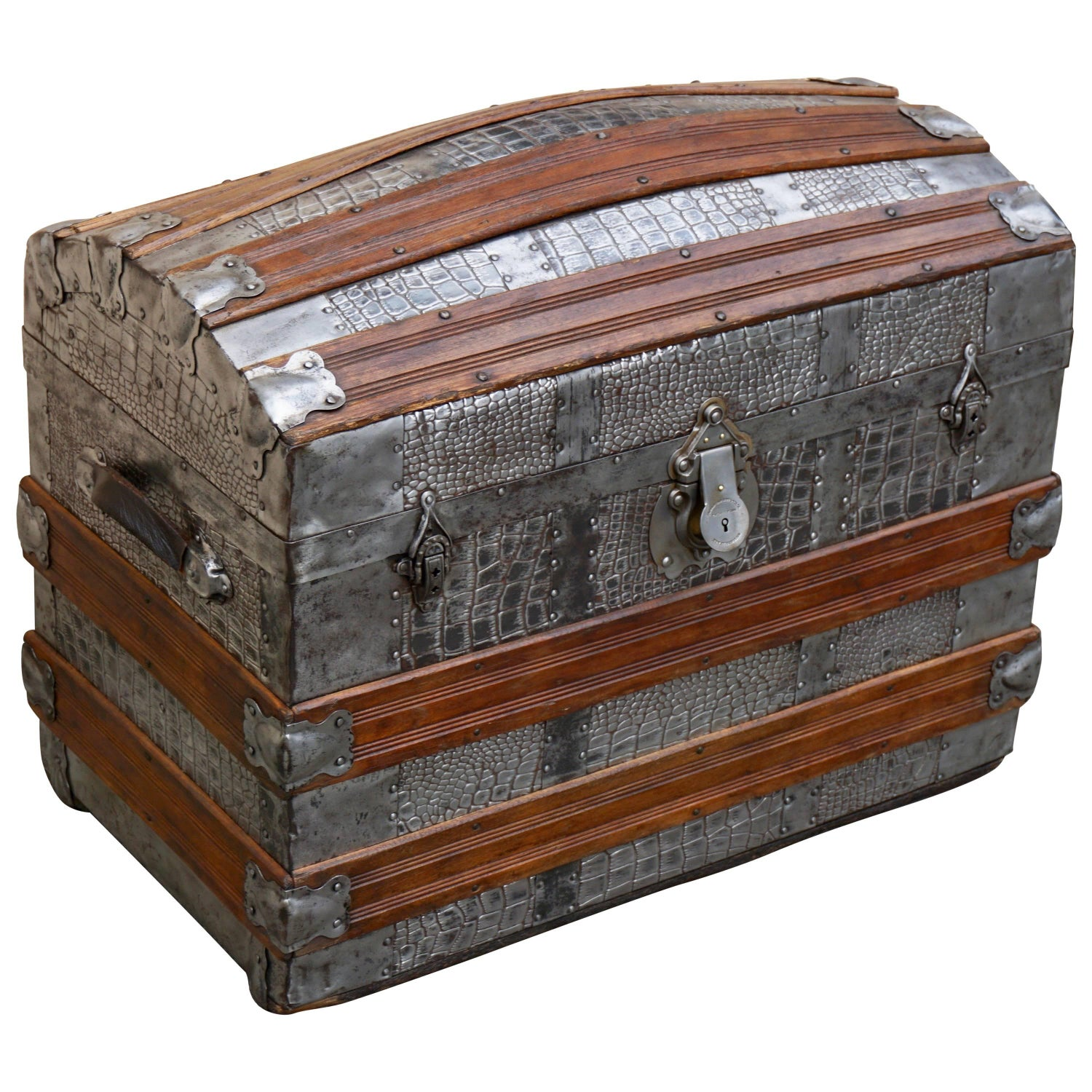prem wayfair piece map furniture leather drawers vintage pdx reviews trunk menagerie world old style with suitcase set