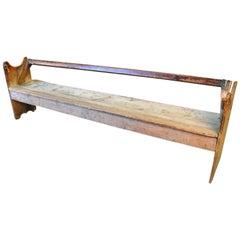 18th Century Primitive Spanish Bench
