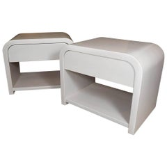 Pair of Modern End Tables