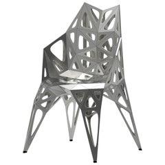 Endless Form Chair by Zhoujie Zhang 'MC011-F' Matte Silver or Black