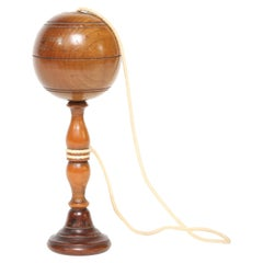 Antique Bilbouquet Cup and Ball Game