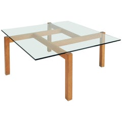 Constructivist Coffee Table in the Style of Poul Kjærholm, France, 1960s