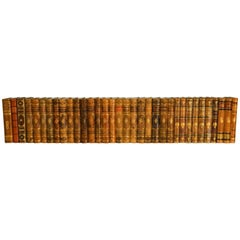 Collection of Leather Bound Books, Series 105