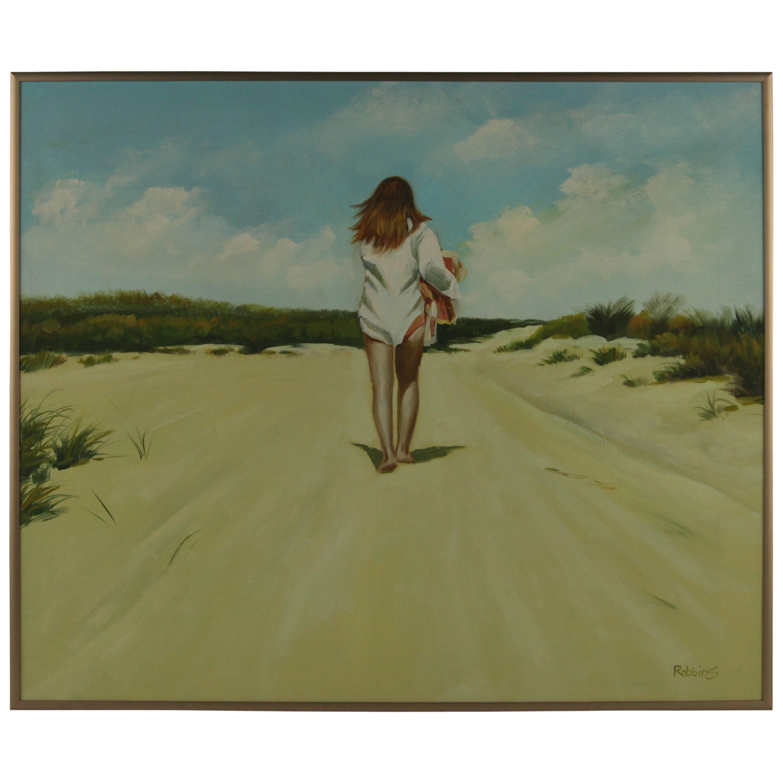 Beach Walking Painting