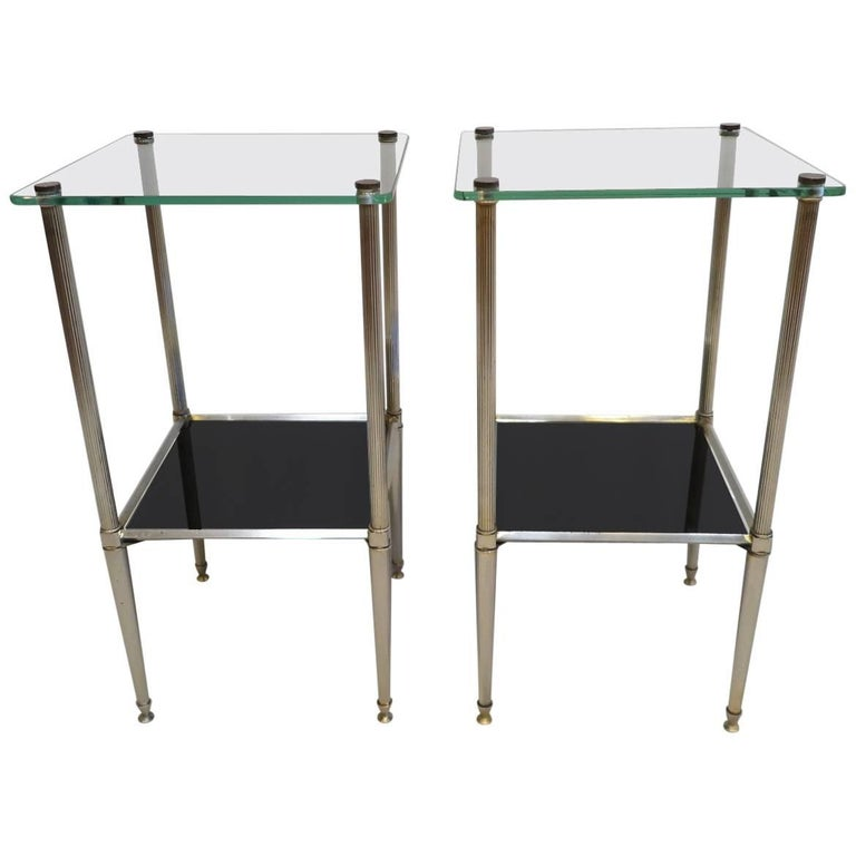 Pair of French Midcentury Side Tables
