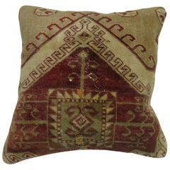 Antique Turkish Anatolian Rug Pillow