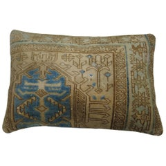 Persian Heriz Lumbar Rug Pillow