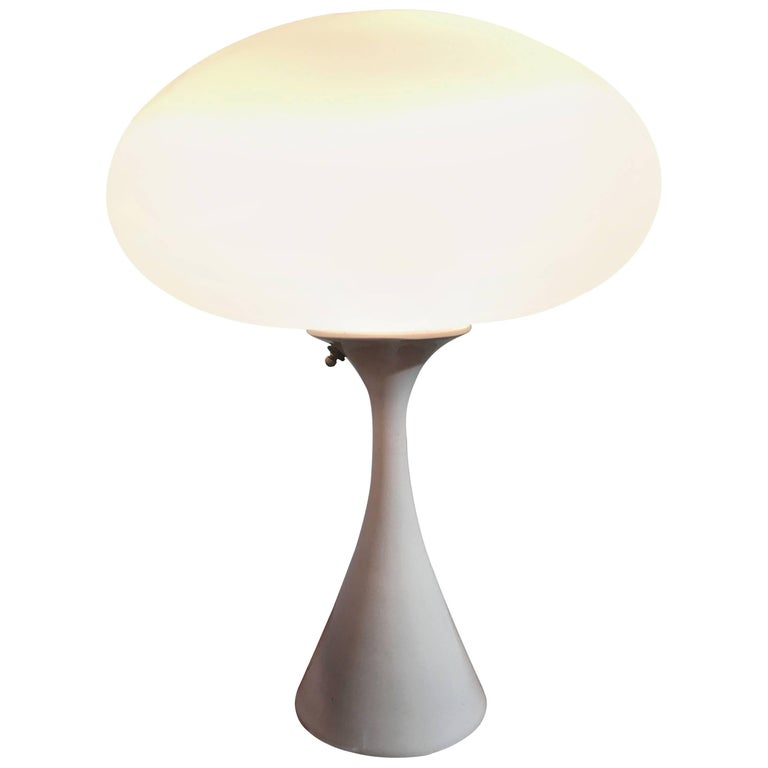 Early Bill Curry for Laurel Mushroom Table Lamp, circa 1960