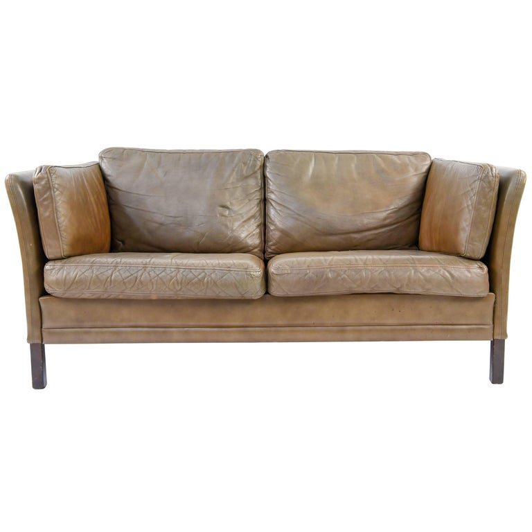 mogens hansen sofa Danish Black Leather Sofa by Mogens Hansen at 1stdibs mogens hansen sofa