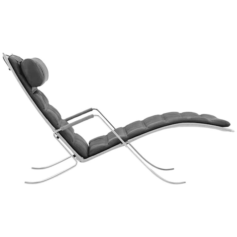 Leather FK 87 Grasshopper Chair