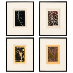 20th Century Relief Prints of Abstract Compositions