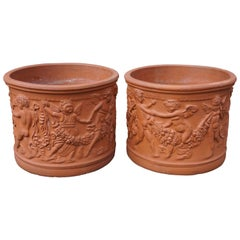 Terracotta Planter or Urn by Bitossi