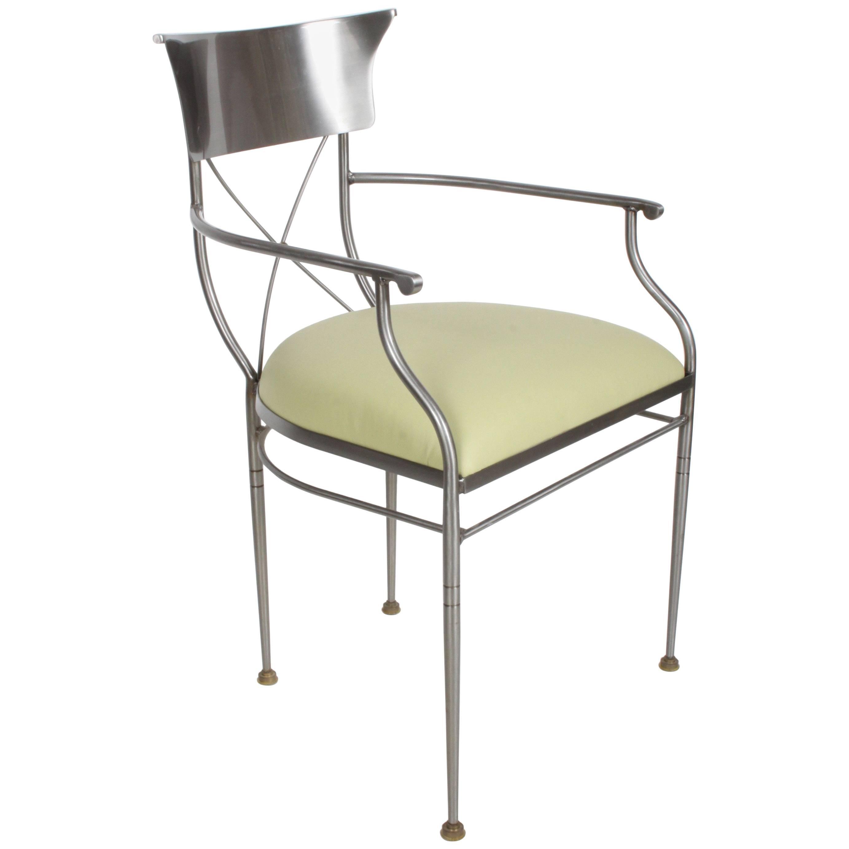 Swaim Modern Neoclassical Form Desk Or Armchair