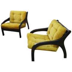 Pair of Vintage 1970s Italy Armchairs