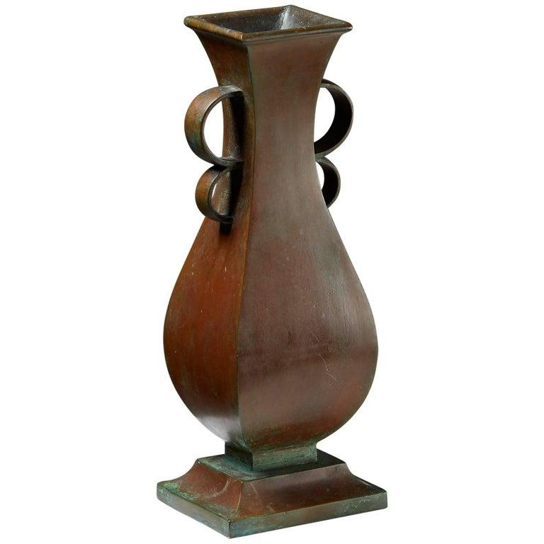Vase Designed by Sune Bäckström, Sweden, 1930s For Sale