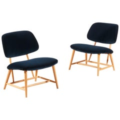 "Alf Svensson, Pair of ""TeVe"" Lounge Chairs, 1950s"