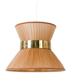Tiffany Contemporary Hanging Lamp, (tobacco MARTHA)low diam. 30cm