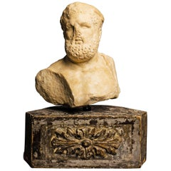 Roman Marble Bust of Hercules, 1st-2nd centuries AD
