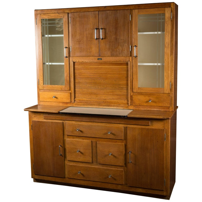 1930s American Streamline Desk Cabinet Dresser At 1stdibs