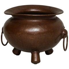 Arts & Crafts Hammered Copper Vessel