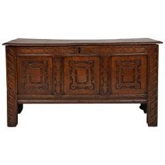 17th Century English Oak Coffer